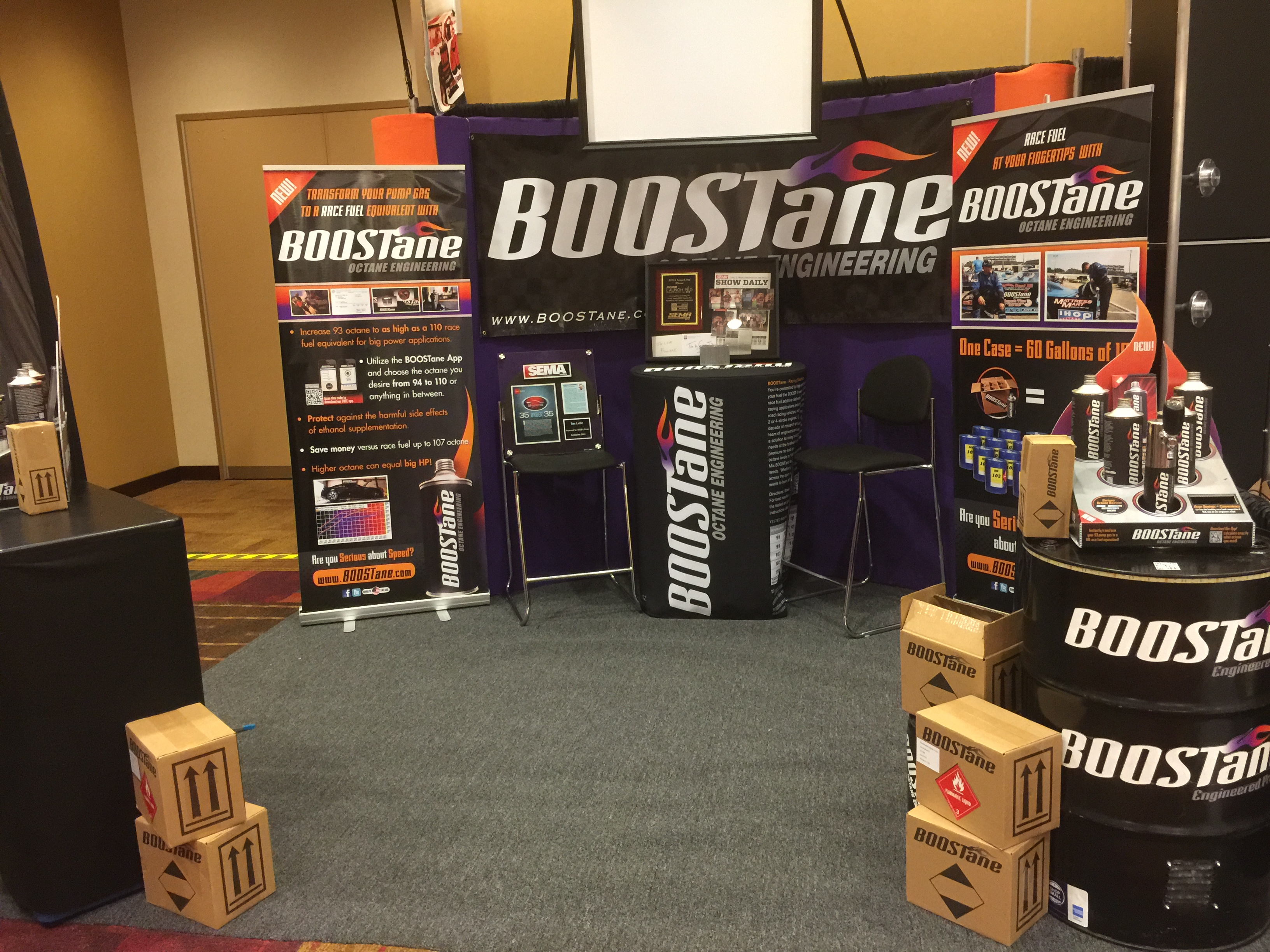 Boostane Trade Booth