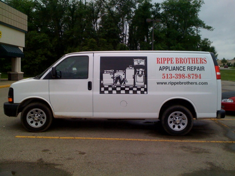 Rippe Brothers Vinyl Lettering